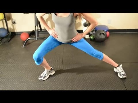 Body Weight & Side Lunges : Get Fit Workout