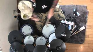 ANTHRAX - Belly of the Beast Drum Cover