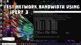 How to Use Iperf to test network bandwidth