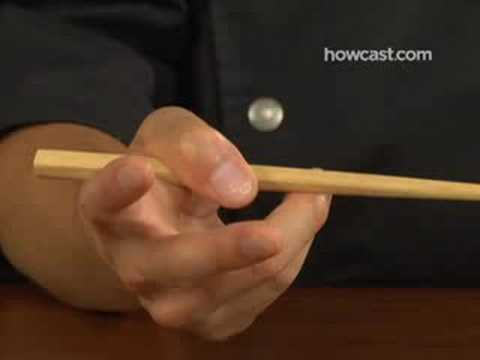 How To: Eat Rice with Chopsticks