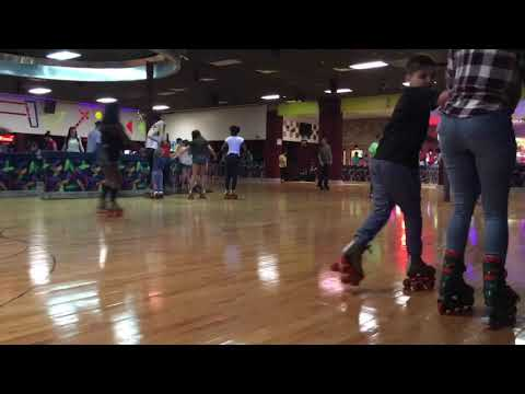 Miami Roller Skating !!! Winter Fun