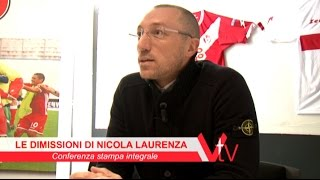 preview picture of video 'A.S. VARESE 1910: Le dimissioni di Nicola Laurenza'