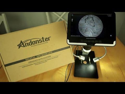 Andonstar AD206 7 '' HD Digitalmikroskop