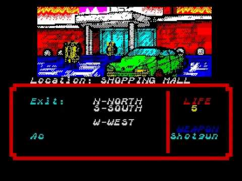 Zombi Terror Walkthrough, ZX Spectrum