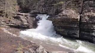 Our visit to Johnston Canyon, Alberta, Canada
