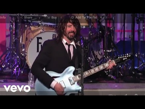 Foo Fighters - Big Me (Live on Letterman)