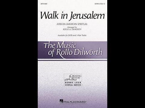 Walk in Jerusalem