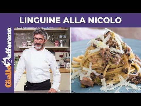 LINGUINE ALLA NICOLO di Antonello Pomata