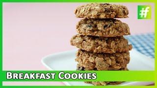 Breakfast Cookies | Easy Recipe By Samina Patel | Low Calorie Breakfast Cookies | #fame Food