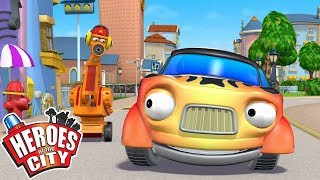 Heroes of the City - The Secret Club | Cartoons For Kids | Vehicles For Kids | Car Cartoons