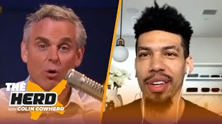 Danny Green on potential NBA return, playing with LeBron, 16-team playoff, Spurs, Raptors | THE HERD