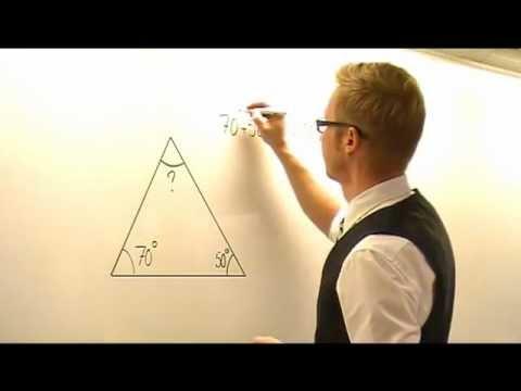Vinkelsumma i triangel
