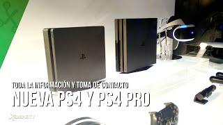 Toma de contacto con las nuevas PlayStation 4 y PS4 Pro