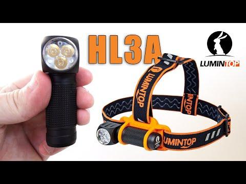 LUMINTOP HL3A Headlamp review