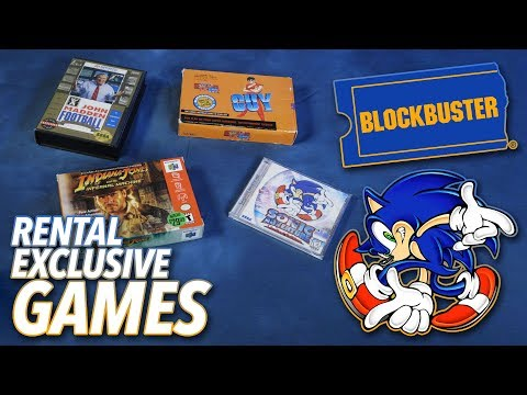 The Days When Blockbuster Had Exclusive Video Games