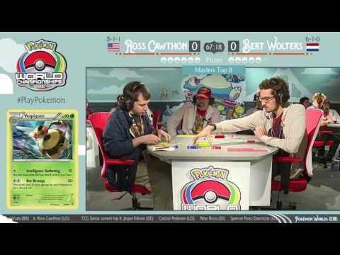 2016 Pokémon World Championships: TCG Masters Top 8