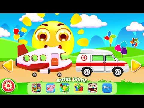 Game anak Merakit mobil