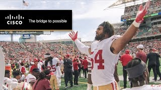 Fred Warner Mic'd Up as 49ers Go 2-0 | 49ers