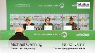 FCM nach Niederlage in Fürth