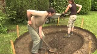Como fazer um laguinho no jardim