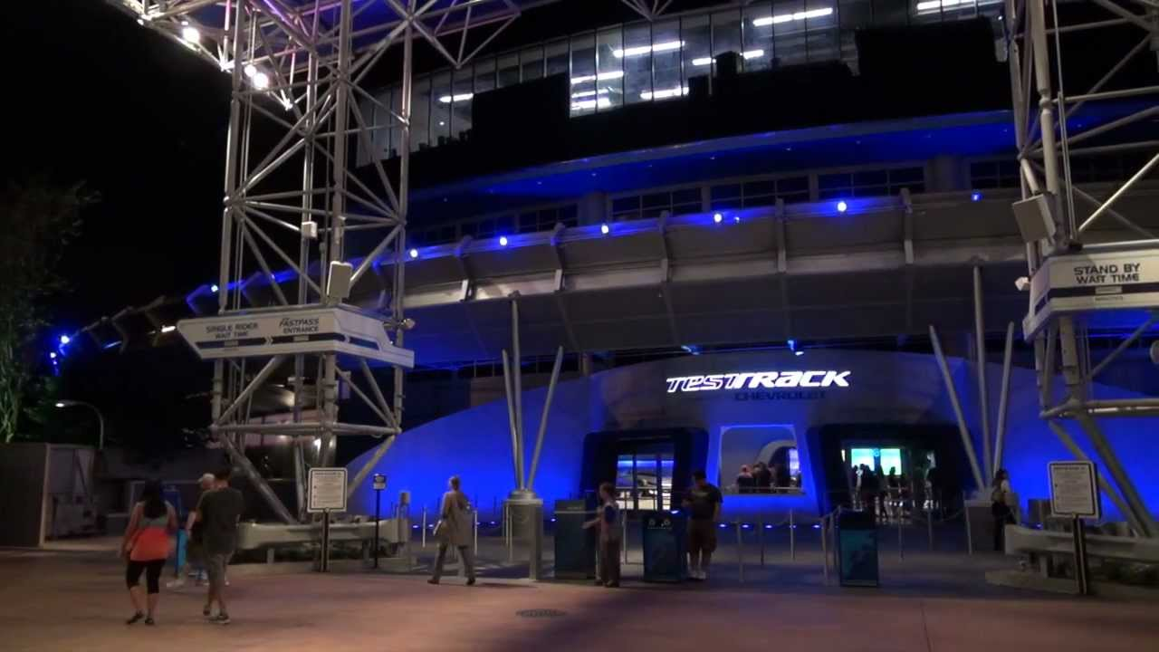 Test Track 2012 full walkthrough and onboard POV