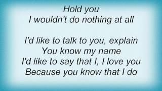 Al Green - I Wanna Hold You Lyrics