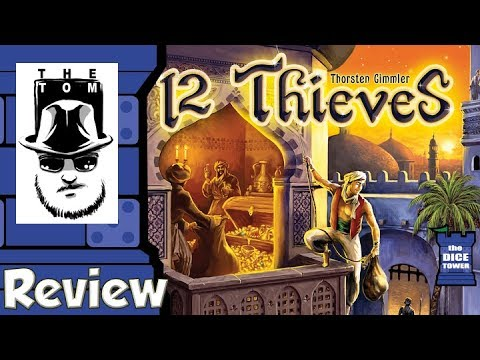 12 Thieves Review - with Tom Vasel