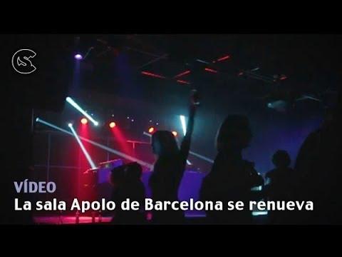 La sala Apolo de Barcelona se renueva