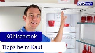 Welche Ausstattung gibt es im Kühlschrank: Tipps zum Kühlschrankkauf