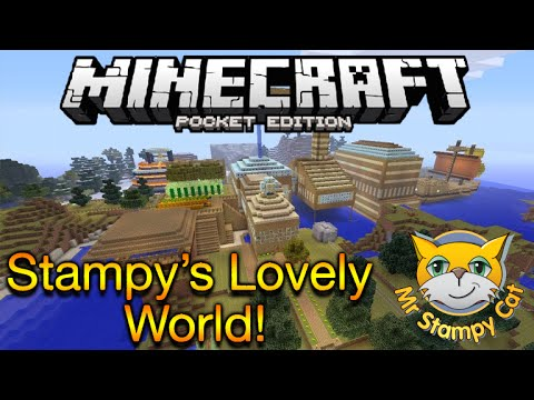 Minecraft pocket edition stampys lovely world stampys world on mcpe gumiabroncs Choice Image