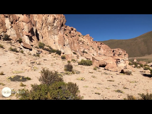 Abenteuer 100 Tage Südamerika: Italia Perdida Felsenformation im Valle de las Rocas