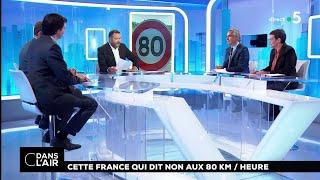 Cette France Qui Dit Non Aux 80km/h #cdanslair 22.06.2018
