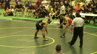 preview picture of video '160-lbs Championship 1 of 4, OIA Wrestling Championships - February 20, 2010'