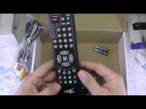 Цифровой эфирный приемник TV DVB Т2 Romsat RS-300, обзор, тест