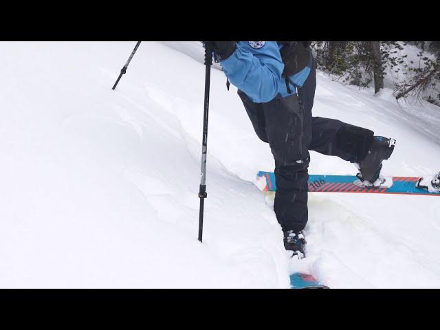 How to Do a Kick Turn on Backcountry Skis