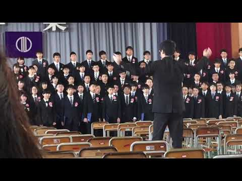 群青/仙台市立第一中学校 卒業式