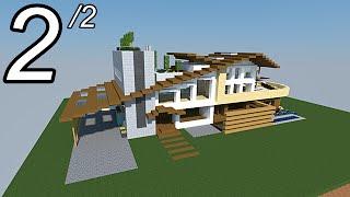 Defroi - Minecraft comment faire une maison de luxe ...