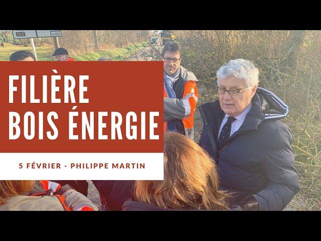 La filière bois-énergie dans le Gers