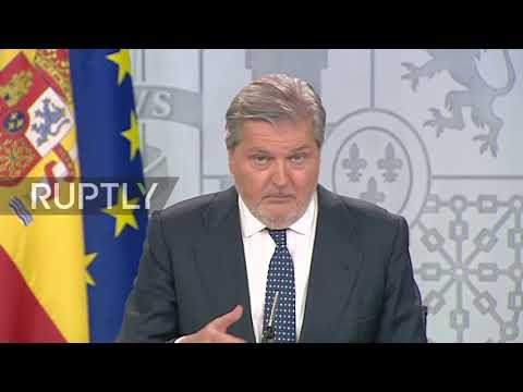 Spain: More law enforcement headed for Catalonia says govt minister