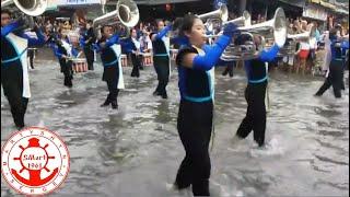 Русские моряки на параде  в Таиланде
