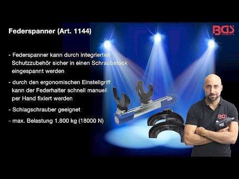 Tutorial: BGS Technic Federspanner  (Art 1144) -  Bergische Innovations GmbH