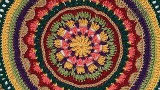Crochet Mandala Stitch Along: Rnds 1 - 10