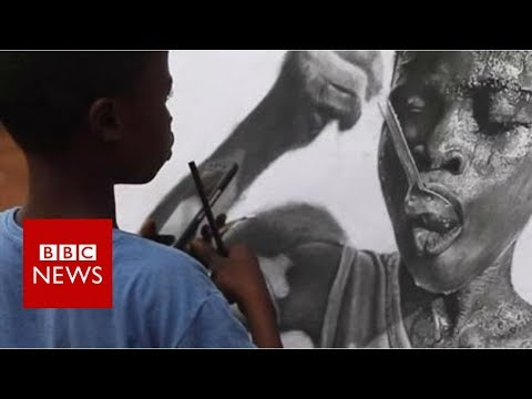 Drawing Hyperrealistic Art at 11-Years-Old