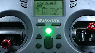 Mjx Bugs 3 bind to Makerfire T-Lite step by step instructions How to set switches reverse channels