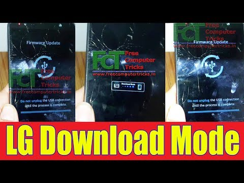 fix LG G3 cat6 F460 no Download mode,no Firmware Update,no