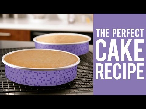 Video How to Make a Cake – The Perfect Recipe for Decorators