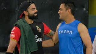 Watch: Virat Kohli looked in supreme touch ahead of facing MS Dhoni's CSK at Chennai | IPL 2019