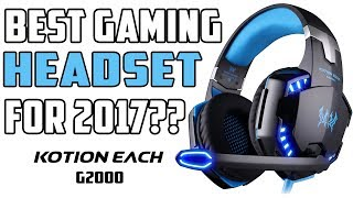 Product Review: Kotion Each G2000 Gaming Headset 2017