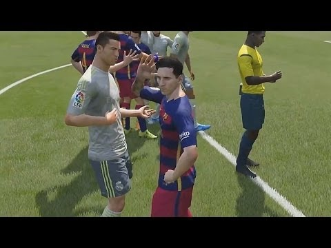 FIFA 16 -Cristiano Ronaldo vs Leo Messi- Fight