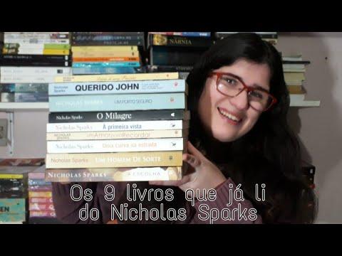 TODOS OS LIVROS QUE JÁ LI DO NICHOLAS SPARKS